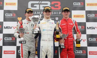 Podium GB3 Championship 2021 Donington Park