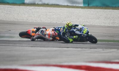 Rossi vs Marquez Sepang Clash 2015 MotoGP