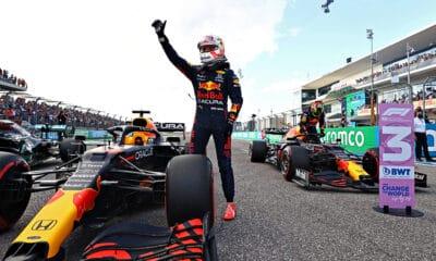 Verstappen USA 2021 f1 pole position