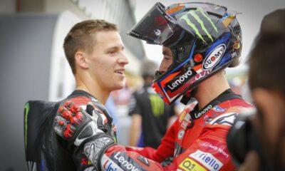 bagnaia kontra quartararo 2021 MotoGP