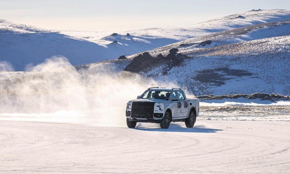 testy nowego forda rangera